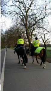 Mounted Squad in London